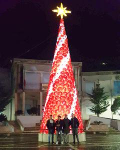 albero di natale torchiati