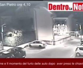Ladri in azione a Montoro: il video