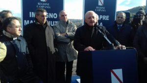 inaugurazione-cilentana De Luca presidente Regione