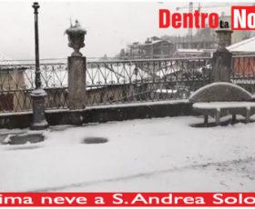 Prima neve a S. Andrea Solofra