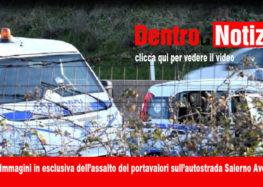 Assalto al furgone portavalori, immagini in esclusiva