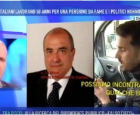 Montoro, le tre pensioni dell'ex senatore De Simone a Domenica live