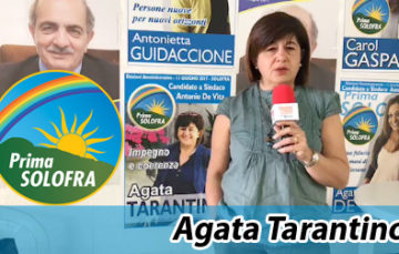 """Presentazione candidata Agata Tarantino della lista """"Prima Solofra"""""""