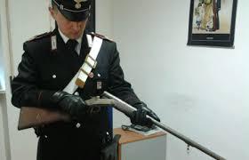 fucile sequestrato montoro carabinieri