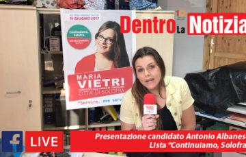 """Presentazione candidata Maria Vietri """"lista Continuiamo, Solofra"""""""