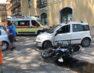 Montoro, incidente in via S. Eustachio a San Pietro, centauto in ospedale