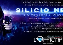 """Silicio Nero. La trappola virtuale"""".  A Solofra la prima proiezione del film di Giuseppe Falagario"""