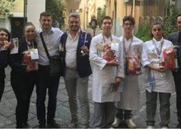 """""""Capitan Cooking"""" I ragazzi dell'Alberghiero di Montoro conquistano il terzo posto"""