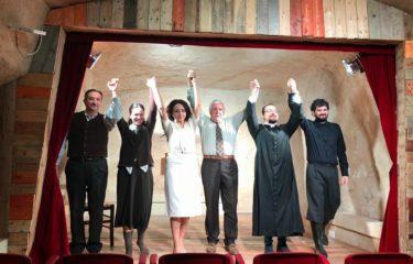 """Angri. Sabato in scena al Piccolo Teatro """"Cristo qui non è sceso"""""""