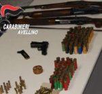 Montoro. Sequestrati tre fucili, una pistola e centinaia di munizioni