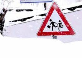 Montoro, il sindaco firma l'ordinanza, scuole chiuse lunedi e martedi 27 febbraio causa neve
