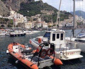Soccorso al largo di Amalfi sette persone salvate dalla Guardia Costiera