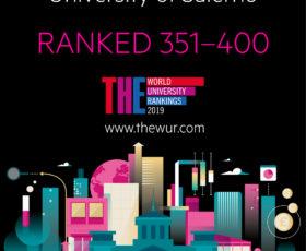 Unisa nella top 400 al mondo
