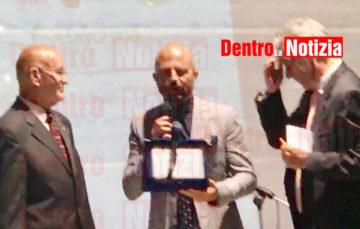 La premiazione di Luca Abete al Telesia Peoples di telese terme