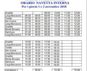 Ravello. Servizio di navetta gratuito per il cimitero nei giorni 1 e 2 novembre