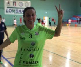Pellezzano: Nadia Carofalo titolare della squadra di pallamano di serie A2 femminile