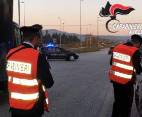 Ariano Irpino. Controllo del territorio da parte dei Carabinieri della compagnia di Ariano Irpino
