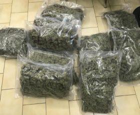 Fisciano. Trovato in possesso di 10,5 chili di marijuana: arrestato spacciatore