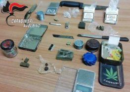 Montoro. Sorpresi in possesso di droga, arrestati dai Carabinieri