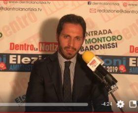Spot elettorale autogestito Il candidato a consigliere ing. Vincenzo Bruno, per la lista Montoro Democratica con Mario Bianchino Sindaco