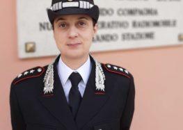 Ariano Irpino. Il capitano Annalisa Pomidoro nuovo comandante della compagnia Carabinieri