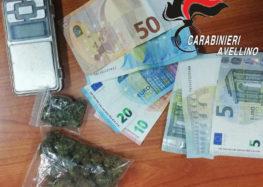 Avellino. Sorpreso a cedere Marijuana: ventenne arrestato