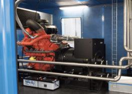 Solofra. Primo cogeneratore a gas con motore Scania in Italia
