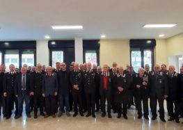 """Avellino. L'ispettore regionale per la Campania dell'Associazione Nazionale Carabinieri alla caserma """"Litto"""""""