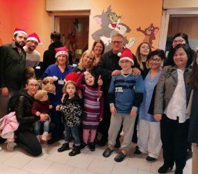 Solofra. Natale in pediatria con Nerderia in compagnia