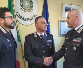Friscuolo promosso ufficiale e lascia il comando della stazione di Solofra