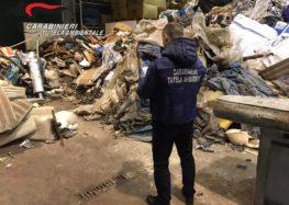 Sequestrato impianto trattamenti rifiuti a Mercato San Severino