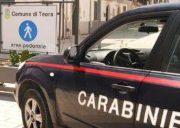 Teora, contrasto ai furti. Carabinieri controllano tre giovani partenopei