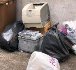 Cava De Tirreni: rifiuti abbandonati, multate cinque persone