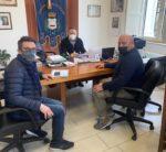 Pellezzano. Il sindaco Morra accoglie i delegati dell'associazione commercianti