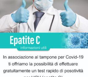 """Un progetto pilota per i test contro l'epatite C sperimentato presso al sede """"La Solidarietà"""""""