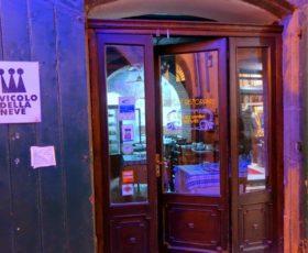 """L'antico ristorante """"Vicolo della Neve"""" chiuso da tempo, si pensa di vincolarlo alla tutela dei Beni Culturali"""