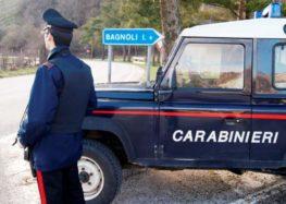 BAGNOLI IRPINO (AV) – LITIGA CON UN AMICO E DANNEGGIA L'AUTO DEI CARABINIERI INTERVENUTI: DENUNCIATO