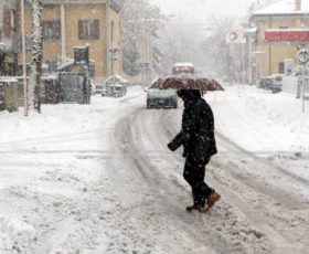 Domani rischio neve