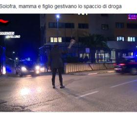 Video, arresti a Solofra per droga
