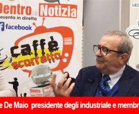 """Michele De maio ospite della trasmissione """"Caffè Scorretto"""""""