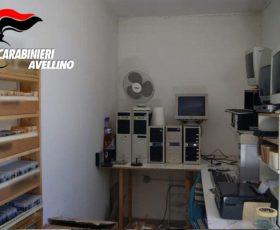 Montoro, i carabinieri sequestrano 12mila cd, dvd e software pirati. 45enne benunciato
