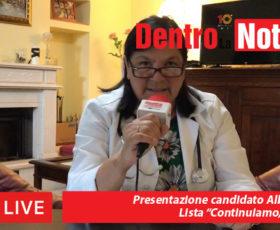 """Presentazione candidata Alba Maffei lista """"Continuiamo, Solofra"""""""