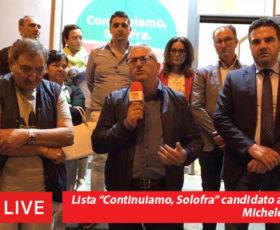 """Solofra. Presentazione lista """"Continuiamo, Solofra"""" candidato sindaco Michele Vignola"""