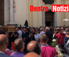 Solofra. I funerali di Francesco Trasi – video