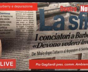 Solofra. Caso Burberry, intervista a Pio Gagliardi consigliere e presidente commissione ambiente
