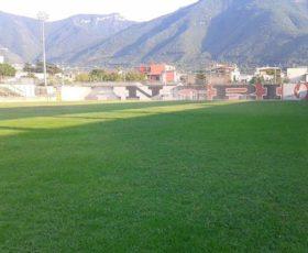 """Angri: arriva l'ok della Lega per la posa del manto in erba sintetica allo Stadio comunale """"P.Novi"""""""