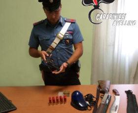 Flumeri (Av) – Sorpreso in auto con pistola, machete e lampeggiante blu: 55enne arrestato dai Carabinieri