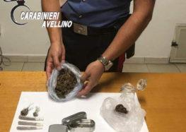 Commercianti al mercato settimanale con hashish e marijuana, due denunce