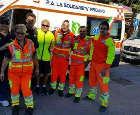 """Taglio del nastro del progetto """"Trasporto Solidale"""" promosso da """"La Solidarietà"""" di Fisciano (SA)"""