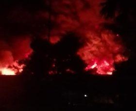 """Incendi agli impianti Stir e aziende di smaltimento rifiuti. De Luca: """"regia delinquenziale"""""""